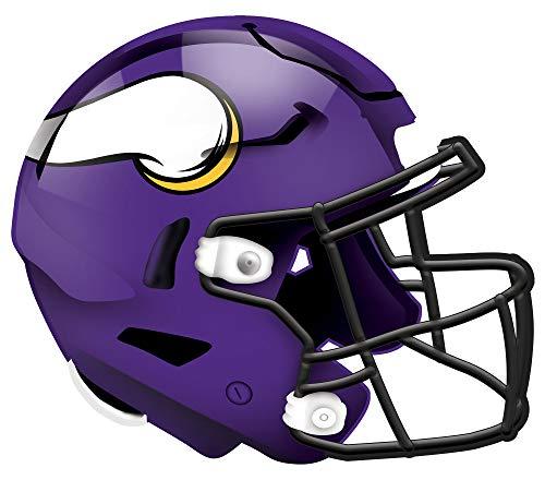NFL Minnesota Vikings Unisex Helm Minnesota Vikings Authentic Team Color, 30,5 cm