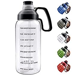 Image of 64 OZ Water Bottle with...: Bestviewsreviews