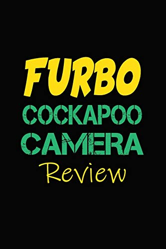 Furbo Cockapoo Camera Review: Blank Lined Journal for Dog Lovers, Dog Mom, Dog Dad and Pet Owners