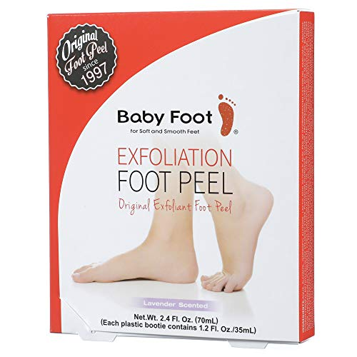 Baby Foot - Original Exfoliation Foot Peel - 1 Hour Treatment - Lavender Scented Pair