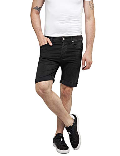 Replay Herren RBJ.901 Shorts, Schwarz (Black 98), 50 (Herstellergröße: 34)