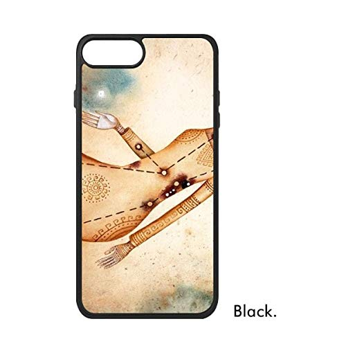 DIYthinker september augustus Maagd sterrenbeeld Zodiac Phonecase Apple Cover Case Gift, iPhone 8 Plus Case