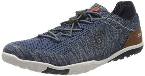 bugatti Herren 341917026900 Sneaker, Blau, 46 EU