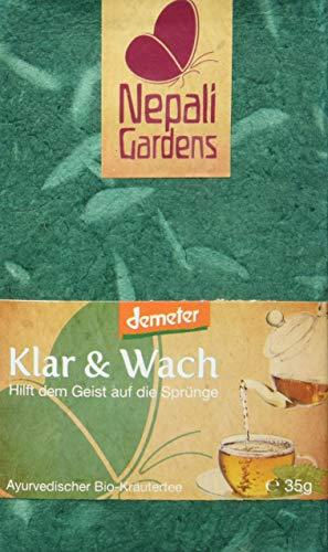 Nepali Gardens Bio Tee Klar und Wach, 35 g