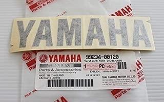 Yamaha 99234-00120 - Genuine Yamaha Decal Sticker Emblem Logo 120MM X 28MM Black Self Adhesive Motorcycle / Jet Ski / ATV / Snowmobile