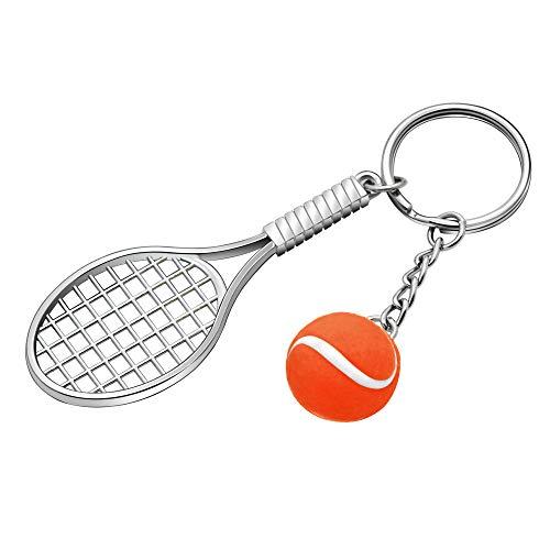 KENYG Mini-Schlüsselanhänger aus Metall, für Sport-Fans, Fitnessstudio, Club, Mitbewerber, Orange, NA