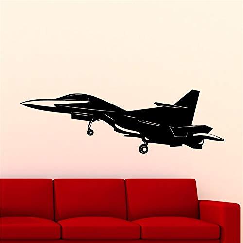 Geiqianjiumai Nieuwe jet jager jet bommenwerper vliegtuig sticker muur sticker home decor woonkamer vinyl