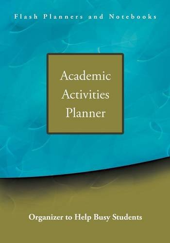 Academic Activities Planner / Organizer to Help Busy Students