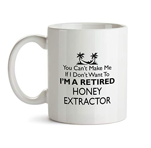 Honey Extractor Gift Mug - Retirement Retired Leaving Good Bye Best Ever Coffee Cup Colleague Co-Worker Thank You Appreciation Present