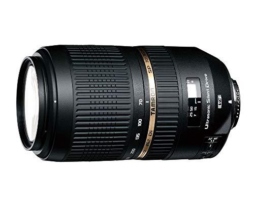 Tamron SP 70-300 mm F/4-5.6 Di USD (XLD) - Objetivo para Sony/Minolta (distancia focal 70-300mm, apertura f/4-5,6, zoom óptico 4x, macro, diámetro: 62mm) negro
