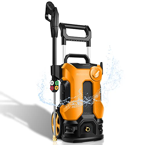 3800PSI Pressure Washer 2.8GPM Electric Power Washer 2000W Pressure Washer Machine with 4 Nozzles for Cleaning Homes, Cars, Driveways, Patios, Fences, Garden