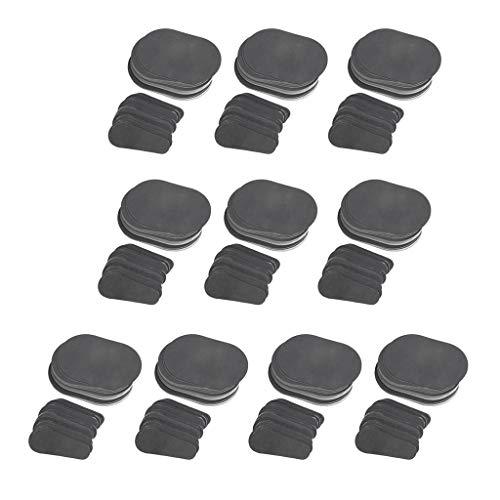 MERIGLARE 400 Set Epilation Discs Peeling Pads Achselenthaarung