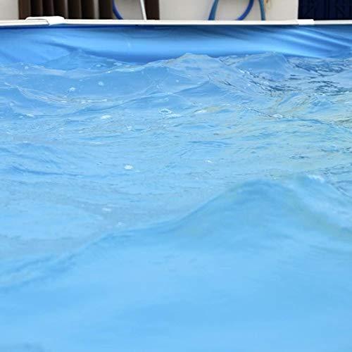 TOI - Piscina IBIZA OVALADA COMPACTA 640x366x132 cm Filtro 3,6 m³ ...