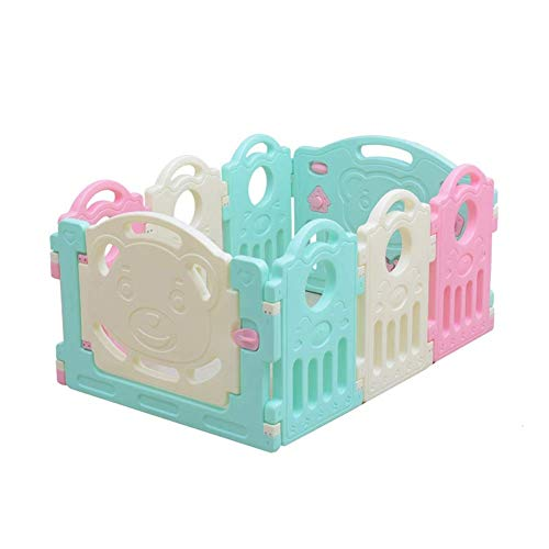 Great Features Of Z-SEAT 8 Panel Baby Playpen, Safety Play Yard, Kids Activity Centre for Home, Indo...