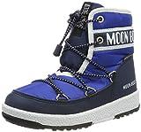 Moon-boot Jr Boy Mid WP, Botas de Nieve Niños, Azul (BLU 002), 34 EU