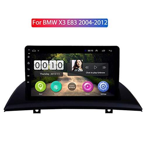 Android 8.1 for BMW X3 E83 2.0i 2.5i 2.5si 3.0i 3.0si 2.0d 3.0d 2004-2012 Multimedia Stereo Car DVD Player Navigation GPS Radio, Steering Wheel Control,AM,IPS 2.5d Screen