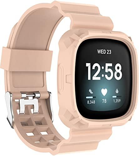 Gransho Correa de Reloj Compatible con Fitbit Versa 3 / Fitbit Sense, Impermeable Reemplazo Correas Reloj Silicona Banda (Pattern 1)