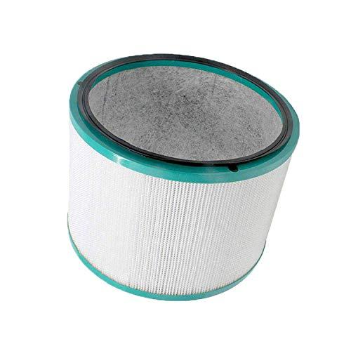 Zealand - Filtro HEPA de repuesto compatible con Dyson Pure Cool HP03 & ‿ DP01 purificador de aire de escritorio y Dyson HP02 Pure Hot + Cool Link Cleaner Ventilador
