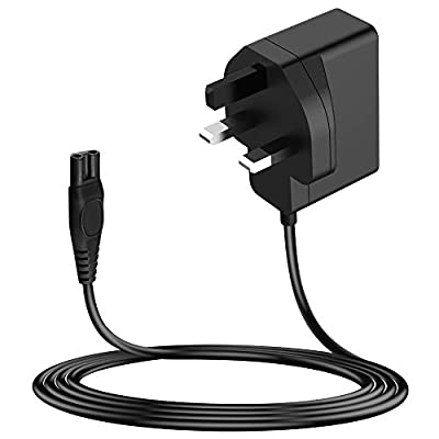 MEROM 15V Razor Power Cord for HQ8505 Charger Compatible with Philips Shaver Norelco Multigroom Pro All-in-One Grooming Trimmer, Precision, Bodygroom, Arcitec, 3000 Series, 6000series Power Cable