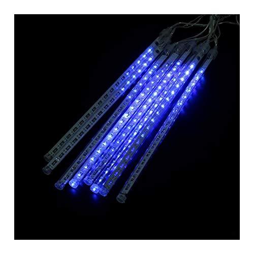 Falling Rain Lights Meteor Shower Lights Christmas Lights 30cm 8 Tube 144 LEDs for Holiday Wedding Christmas Trees Halloween Decoration