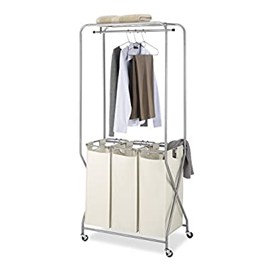 Whitmor Triple Sorter Laundry Center