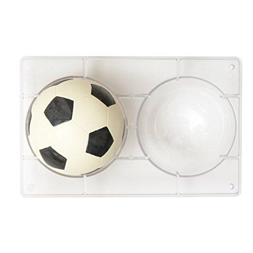 Decora 0050105 bakvorm chocolade voetbal, bruin