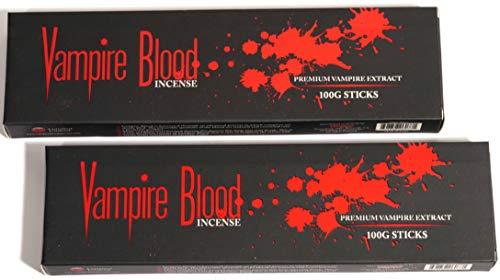 Devils Garden Original Vampire Blood Incense. Pack of 2. 100 Grams Each, 200 Grams Total