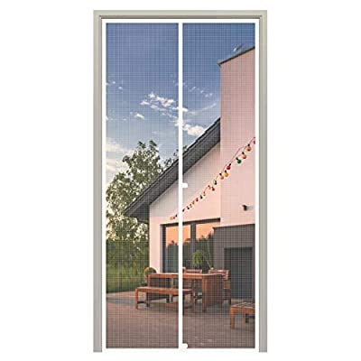 White Magnetic Screen Doors