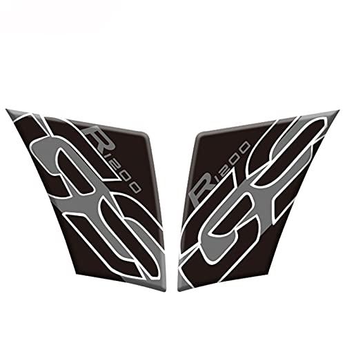 Pegatinas reflectantes para cubierta de tanque de combustible para motocicleta, pegatina reflectante e impermeable, para BMW R1200GS R 1200 GS 2005-2012 (color: B 2)