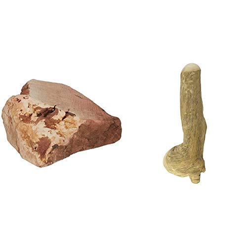 Chewies Kauwurzel für Hunde - Kauspielzeug aus Baumheide Wurzel - Größe L & Kaustab für Hunde - Kauknochen aus Kaffeeholz - splitterfrei und langlebig - Größe L: Für Hunde ab 20 kg Körpergewicht