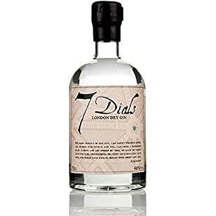 7 Dials London Dry Gin 70cl - (Pack of 6)