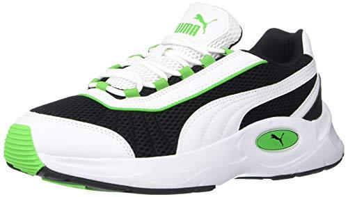Puma Nucleus Zapatillas de deporte para Unisex adulto, color Puma Black-Classic Green, 22