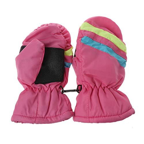 WT-DDJJK Babyhandschuhe, 2-5 Jahre Babyhandschuh Winter Kinder Jungen Mädchen Mädchen Outdoor Warme Handschuhe Wasserdicht Winddicht