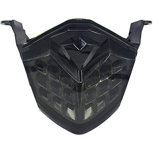 Fast Pro - Luci a LED per fanali posteriori, stop, indicatori di direzione per Kawasaki Z750 2007-2011 Z1000 2007-2009 ZX-6R 2009-2011 ZX-10R 2008-2010