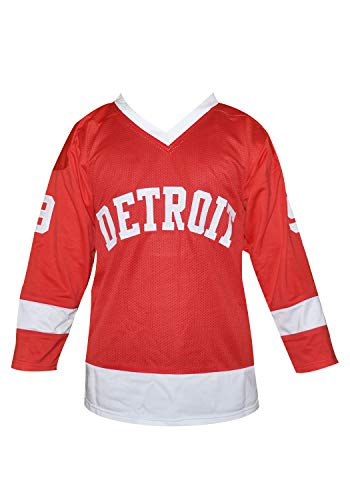 Cameron Frye Hockey Ferris Bueller Jersey Stitch Sewn XS-2XL Halloween Costume Detroit (54) Red