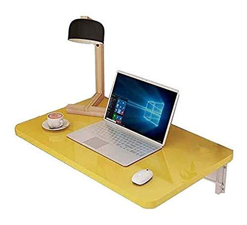 Mesa de centro Mesas Mesas finales de pared plegable for Ahorro de espacio de oficina sala de ordenadores Baño Balcón de almacenamiento de tabla estante escritorio del ordenador portátil) Tablas de ca
