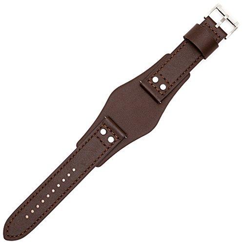 Fossil Uhrenarmband 22mm Leder Braun - CH-2891 | LB-CH2891