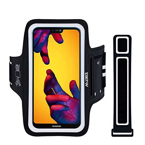 Porta Movil Running EOTW Brazalete Deportivo Compatible con Huawei P20 Pro/P30 Pro/Mate 20, Brazalete Movil con Extensión Bueno en Correr Ciclismo Deportes