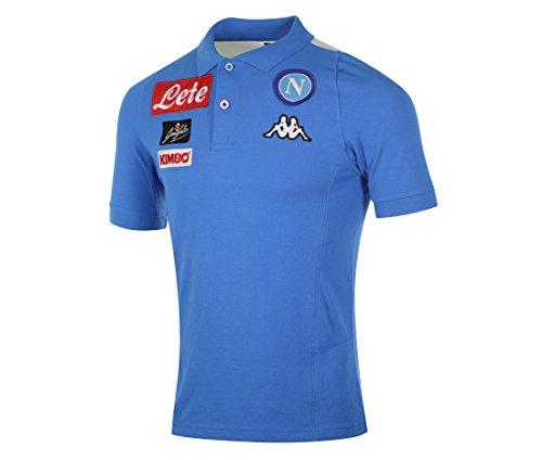 2016-2017 Napoli Cotton Polo Shirt (Sky Blue)