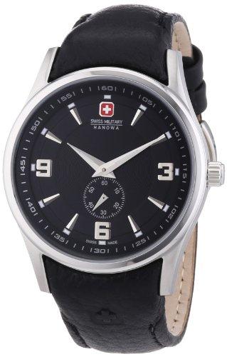 Swiss Military Hanowa Damen-Armbanduhr Analog Quarz Leder 06-6209.04.007