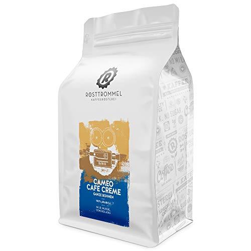 Kaffeebohnen CAMEO - Special Edition - nussig, mild - handgerösteter Cafe Crema für Kaffee-Vollautomaten