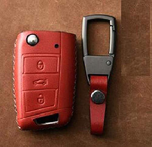 XINERJIA Funda para llave de coche, funda de cuero para llave remota...