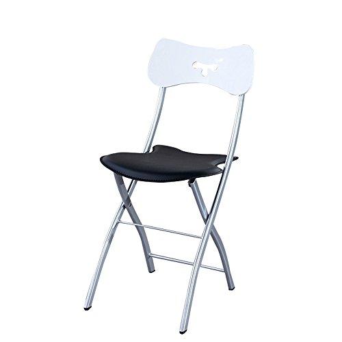 MAZHONG Tabourets Chaises pliantes portatives, tables et chaises pliantes et sièges intérieurs/intérieurs (Couleur : A)