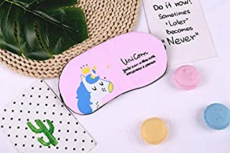 LAJKS New 1Pc Eye Mask Sleep Cute Plush Eye Mask Cover Shade Eyeshade Mask Travel Suitable for Travel Home Party Gifts Boy Must Haves Toddler Favourite Toddler Superhero Toddler Must HAV