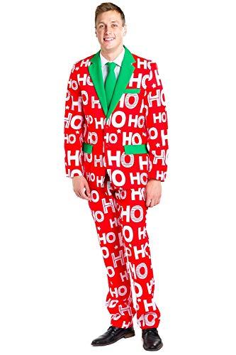 Tipsy Elves Ho Ho Holla Suit Pants: 32