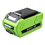 40V 4.0Ah Lithium Battery Replacement for 29472, Compatible with 29462 BAF724 Greenworks 40V G-MAX/Elite Cordless Power Tools 25322 25302 21332 2901319 29482