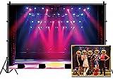 Leyiyi 9x6ft Stage Spotlight Backdrop Concert...