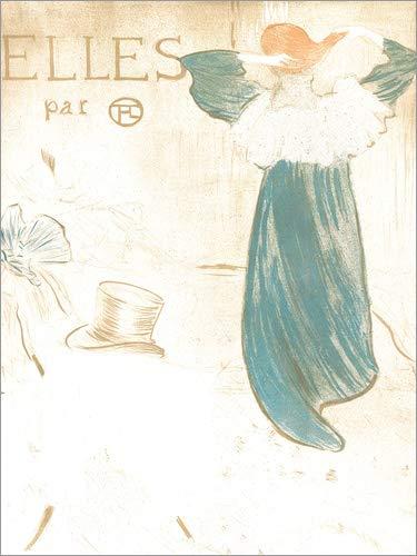 Poster 50 x 70 cm: Elles di Henri de Toulouse-Lautrec - Stampa Artistica Professionale, Nuovo Poster Artistico