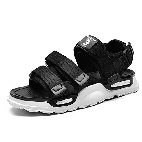 XIDISO Sandalias deportivas al aire libre para hombre, sandalias de trekking con cierre, zapatos al aire libre, zapatos casuales, sandalia transpirable para pescadores de agua para hombres