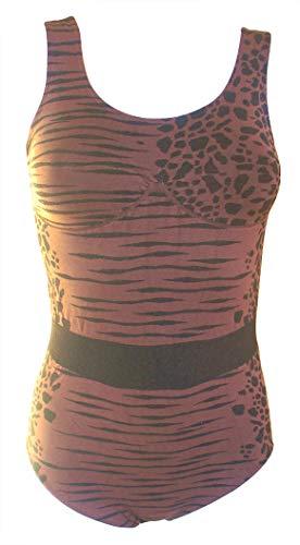 no rain Badeanzug formSchön figurformend starker Shaping-Effekt Swim-wear Einteiler Bauchweg-Badeanzug Große Grössen (L=42-44)